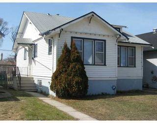 Photo 1: 990 GARFIELD Street North in WINNIPEG: West End / Wolseley Residential for sale (West Winnipeg)  : MLS®# 2905782