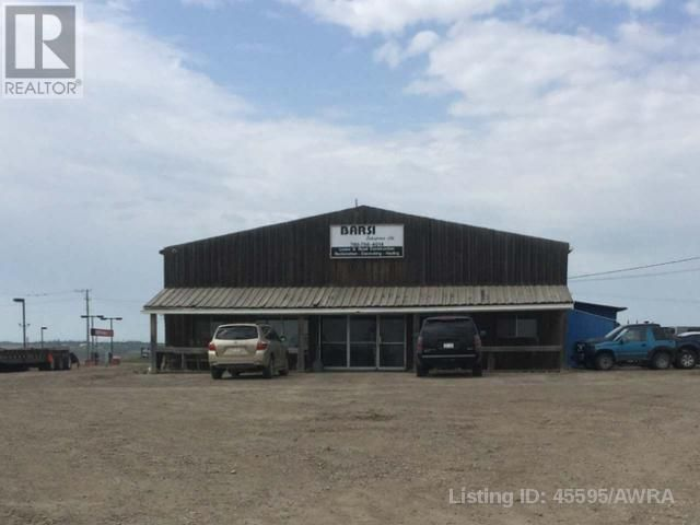 Main Photo: 4404 50 STREET in Mayerthorpe: Industrial for sale : MLS®# AWI45595