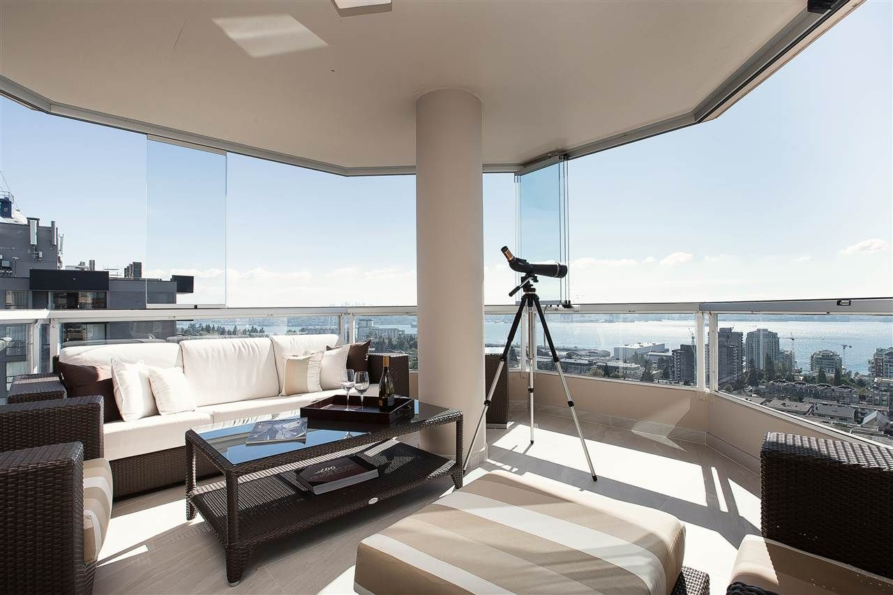 """Main Photo: 1301 123 E KEITH Road in North Vancouver: Lower Lonsdale Condo for sale in """"VICTORIA PLACE"""" : MLS®# R2210489"""