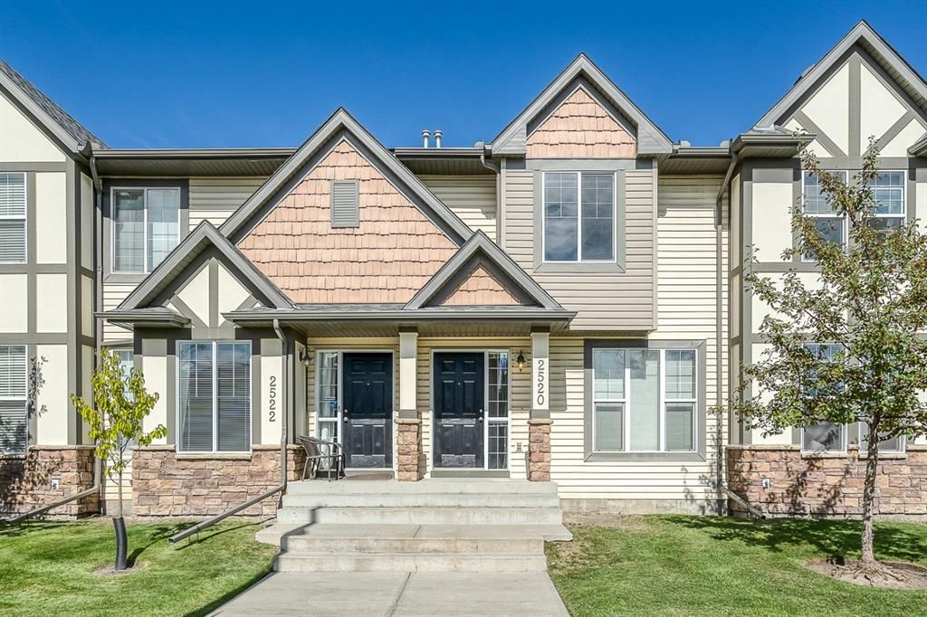 Main Photo: 2520 Eversyde Avenue SW in Calgary: Evergreen Row/Townhouse for sale : MLS®# A1147495