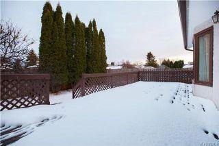 Photo 20: 46 Meadow Ridge Drive in Winnipeg: Richmond West Residential for sale (1S)  : MLS®# 1801065