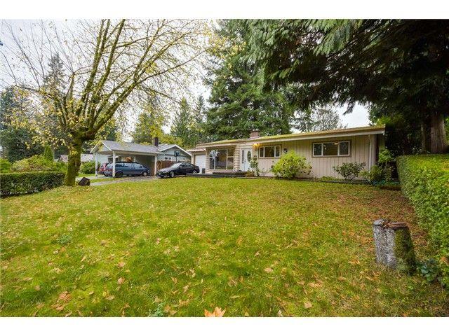 Main Photo: 1987 BERKLEY Avenue in North Vancouver: Blueridge NV House for sale : MLS®# V1092118