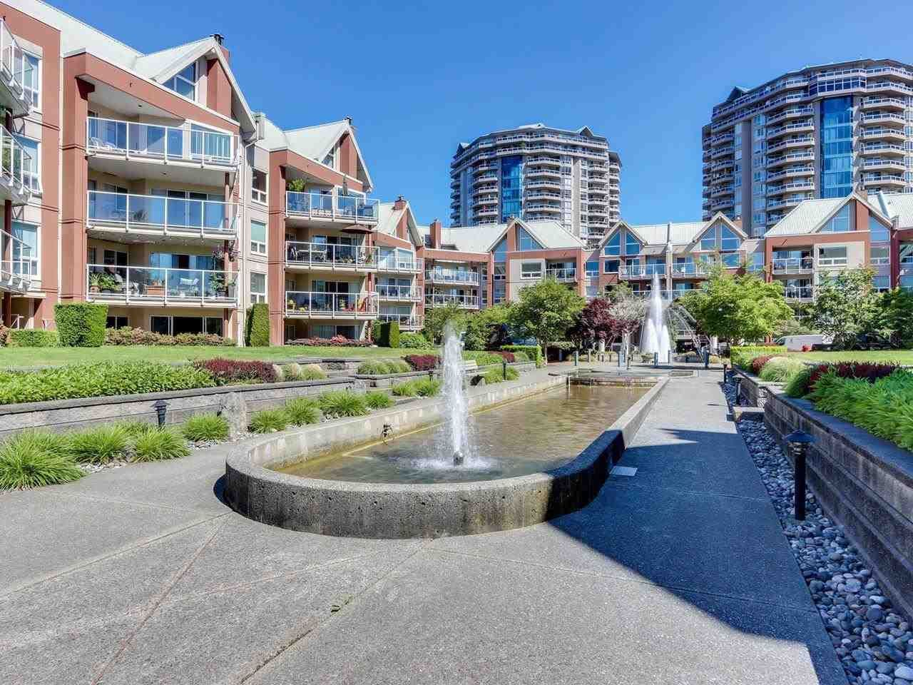 """Main Photo: 203 1240 QUAYSIDE Drive in New Westminster: Quay Condo for sale in """"TIFFANY SHORES"""" : MLS®# R2587863"""
