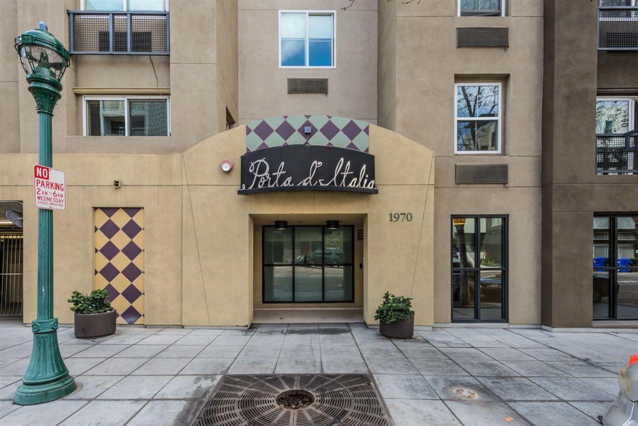 Main Photo: SAN DIEGO Condo for sale : 1 bedrooms : 1970 Columbia Street #202