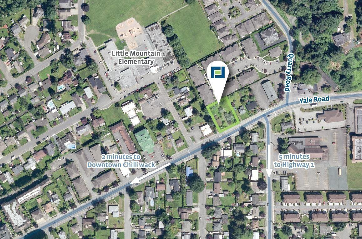 Main Photo: 46811 YALE Road: Land Commercial for sale in Chilliwack: MLS®# C8039093