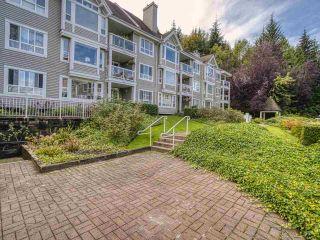 "Photo 1: 102 3099 TERRAVISTA Place in Port Moody: Port Moody Centre Condo for sale in ""THE GLENMORE"" : MLS®# R2500937"
