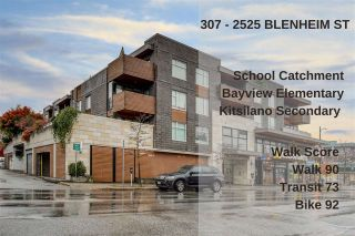 """Photo 21: 307 2525 BLENHEIM Street in Vancouver: Kitsilano Condo for sale in """"THE MACK"""" (Vancouver West)  : MLS®# R2517889"""
