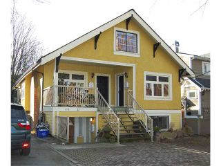 "Photo 1: 416 W 13TH AV in Vancouver: Mount Pleasant VW House for sale in ""CITY HALL"" (Vancouver West)  : MLS®# V868393"