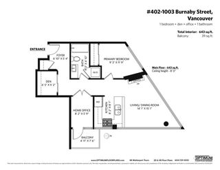 """Photo 27: 402 1003 BURNABY Street in Vancouver: West End VW Condo for sale in """"MILANO"""" (Vancouver West)  : MLS®# R2580390"""