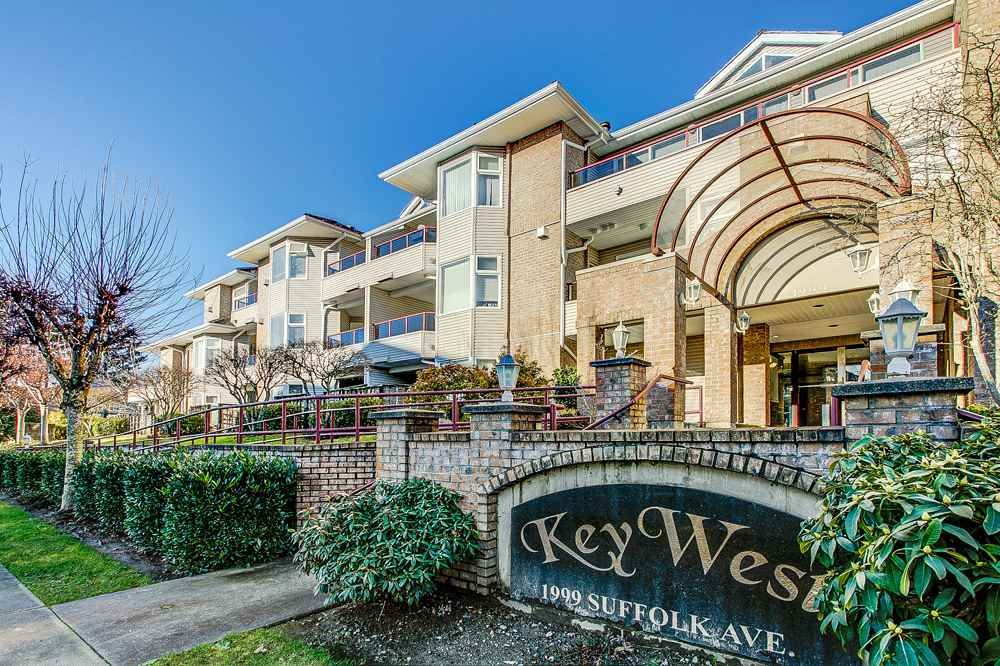 """Main Photo: 106 1999 SUFFOLK Avenue in Port Coquitlam: Glenwood PQ Condo for sale in """"Key West"""" : MLS®# R2330864"""