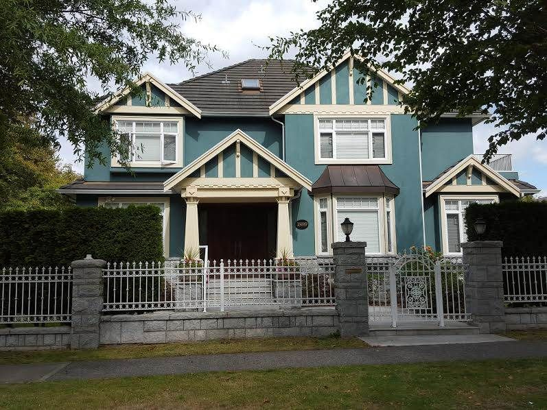 Photo 1: Photos: 1899 W 47TH Avenue in Vancouver: South Granville House for sale (Vancouver West)  : MLS®# R2001720