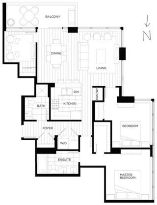 Photo 23: 3706 3080 LINCOLN Avenue in Coquitlam: North Coquitlam Condo for sale : MLS®# R2595238
