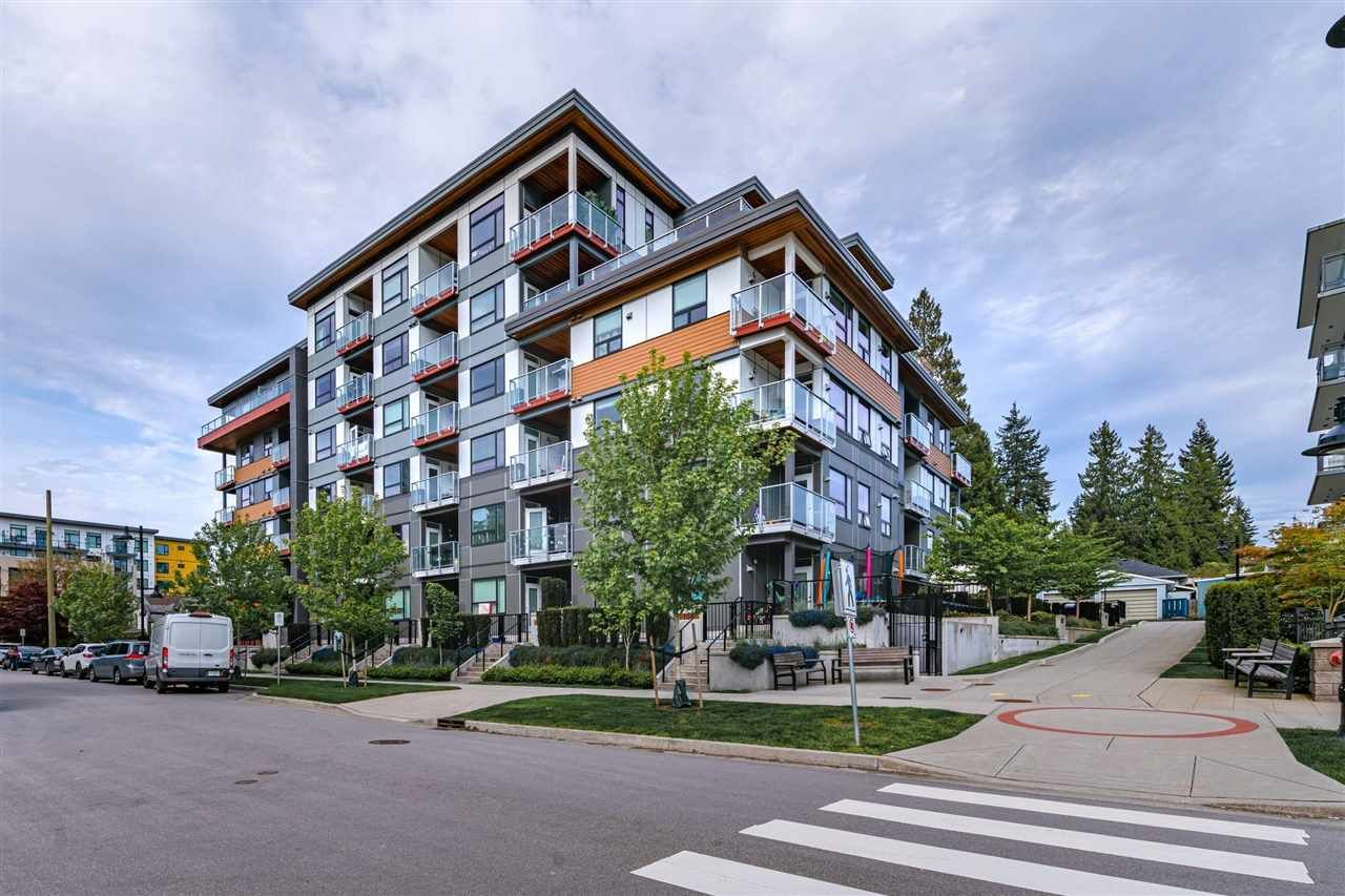 Main Photo: 107 717 BRESLAY Street in Coquitlam: Coquitlam West Condo for sale : MLS®# R2576994