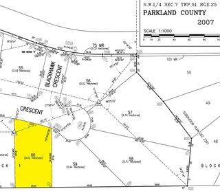 Photo 5: 60 25527 TWP RD 511 A: Rural Parkland County Rural Land/Vacant Lot for sale : MLS®# E4235769