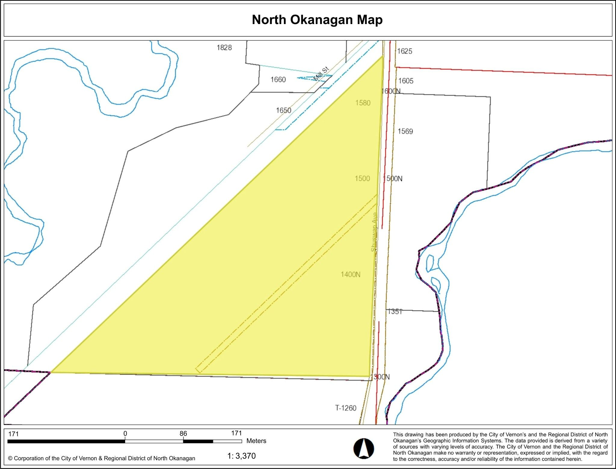 Main Photo: 1580 Shuswap Avenue in Lumby: Lumby Valley Vacant Land for sale (North Okanagan)  : MLS®# 10042447