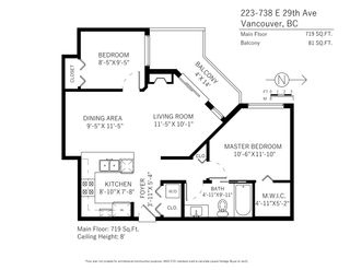 """Photo 20: 223 738 E 29TH Avenue in Vancouver: Fraser VE Condo for sale in """"CENTURY"""" (Vancouver East)  : MLS®# R2265012"""