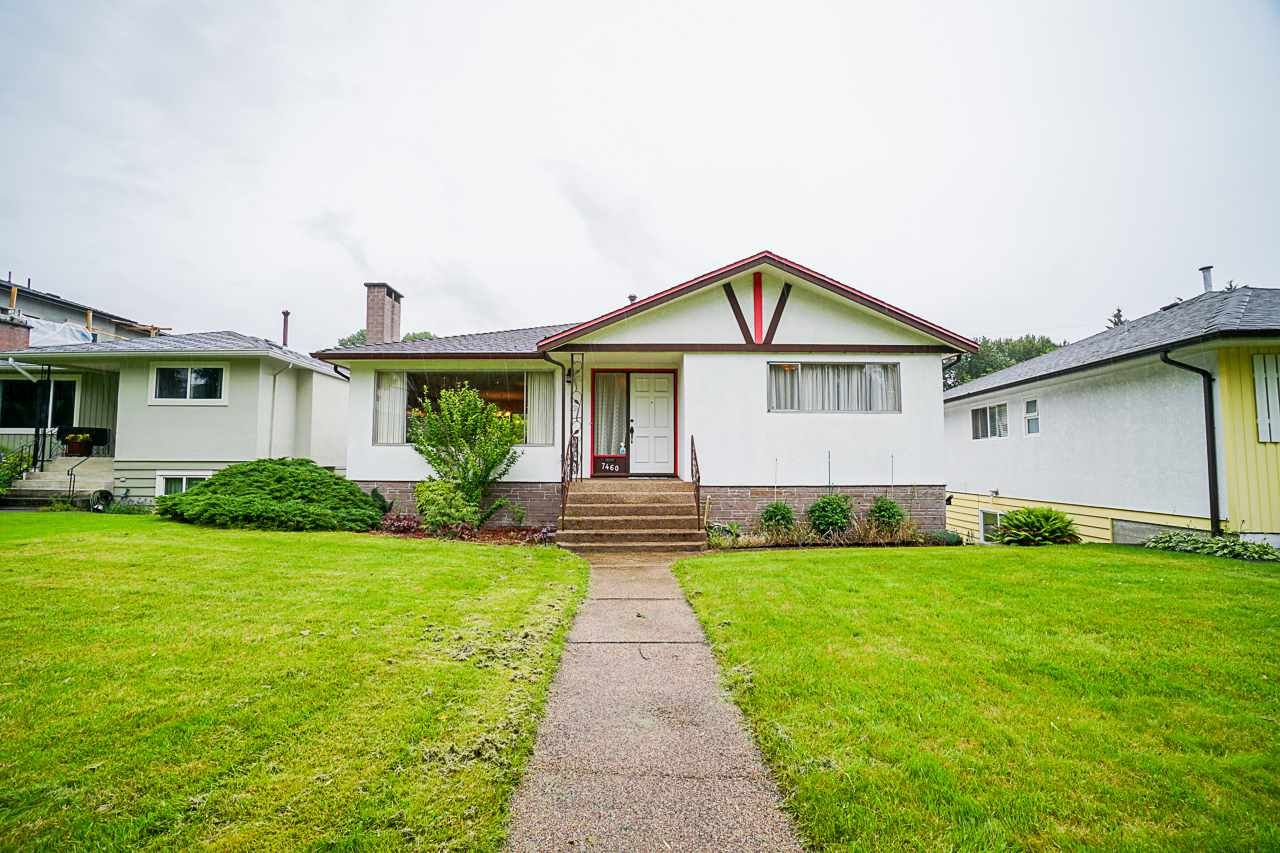 Main Photo: 7460 GATINEAU Place in Vancouver: Fraserview VE House for sale (Vancouver East)  : MLS®# R2460757