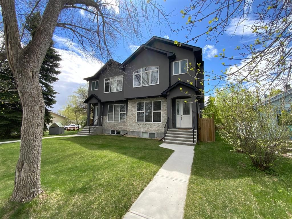Main Photo: 623 55 Avenue SW in Calgary: Windsor Park Semi Detached for sale : MLS®# A1100337