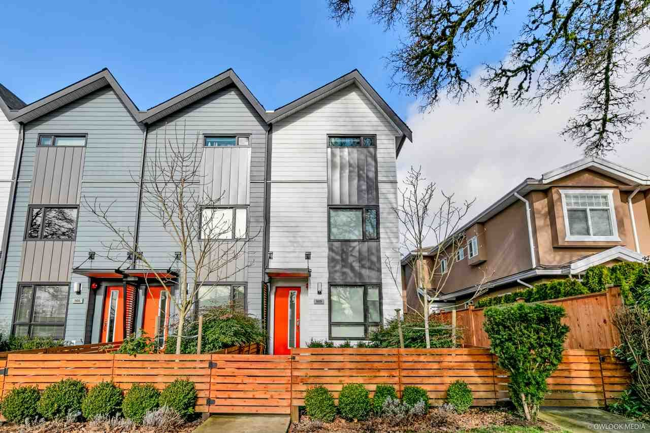 Main Photo: 509 E 44TH Avenue in Vancouver: Fraser VE Townhouse for sale (Vancouver East)  : MLS®# R2540969
