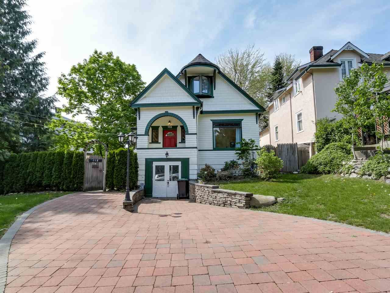 Main Photo: 112 GRANVILLE Street in New Westminster: Queens Park House for sale : MLS®# R2064199