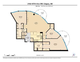 Photo 40: 2102 1078 6 Avenue SW in Calgary: Downtown West End Apartment for sale : MLS®# A1115705