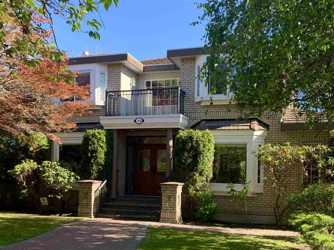 Main Photo: 1918 W 44TH Avenue in Vancouver: Kerrisdale House for sale (Vancouver West)  : MLS®# R2462762