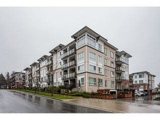 "Photo 1: 316 6468 195A Street in Surrey: Cloverdale BC Condo for sale in ""YALE BLOC"" (Cloverdale)  : MLS®# R2426286"