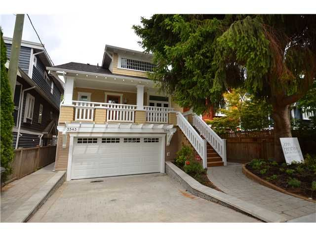 Main Photo: 3541 W 8TH Avenue in Vancouver: Kitsilano 1/2 Duplex for sale (Vancouver West)  : MLS®# V900175