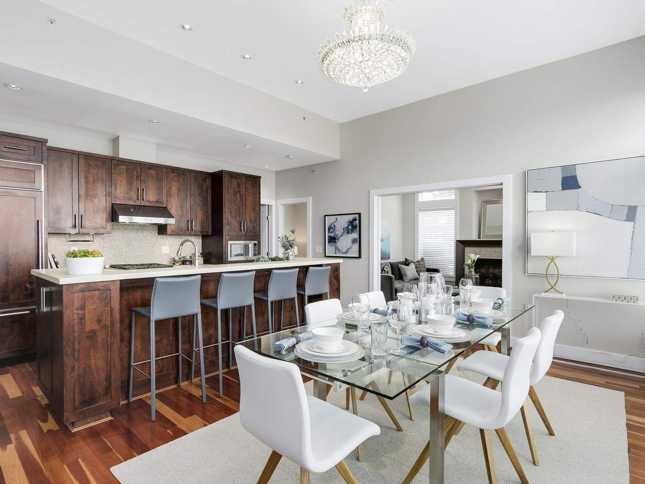 """Photo 5: Photos: 404 6328 LARKIN Drive in Vancouver: University VW Condo for sale in """"Journey"""" (Vancouver West)  : MLS®# R2146632"""