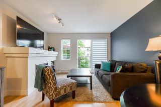 """Photo 1: 74 1561 BOOTH Avenue in Coquitlam: Maillardville Townhouse for sale in """"The Courcelles"""" : MLS®# R2619112"""