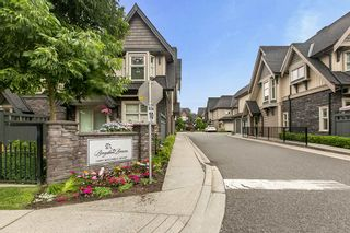 "Photo 23: 16 19095 MITCHELL Road in Pitt Meadows: Central Meadows Townhouse for sale in ""Brogden Brown"" : MLS®# R2470494"