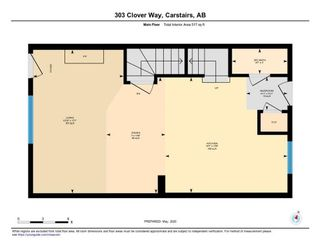 Photo 32: 303 300 Clover Way: Carstairs Row/Townhouse for sale : MLS®# A1145046