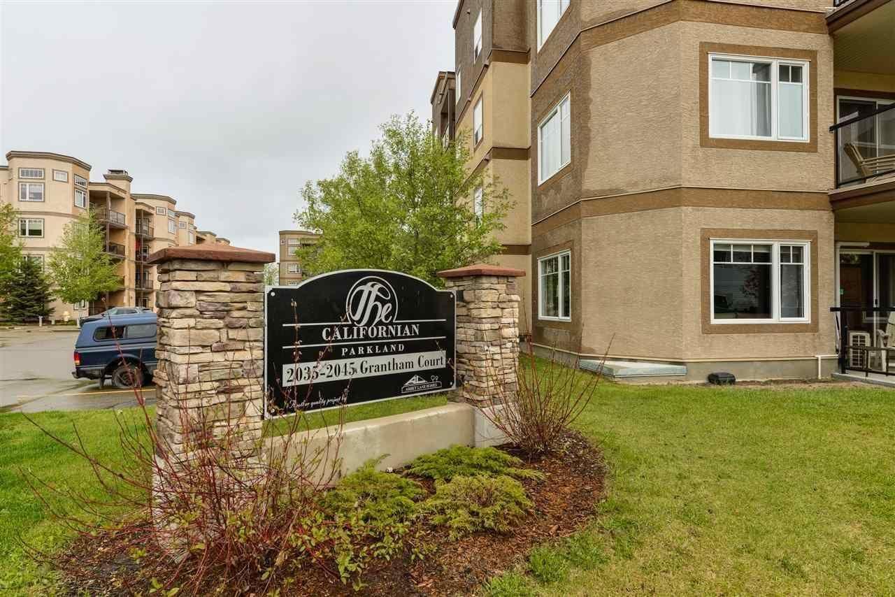 Main Photo: 107 2045 Grantham Court in Edmonton: Zone 58 Condo for sale : MLS®# E4226708