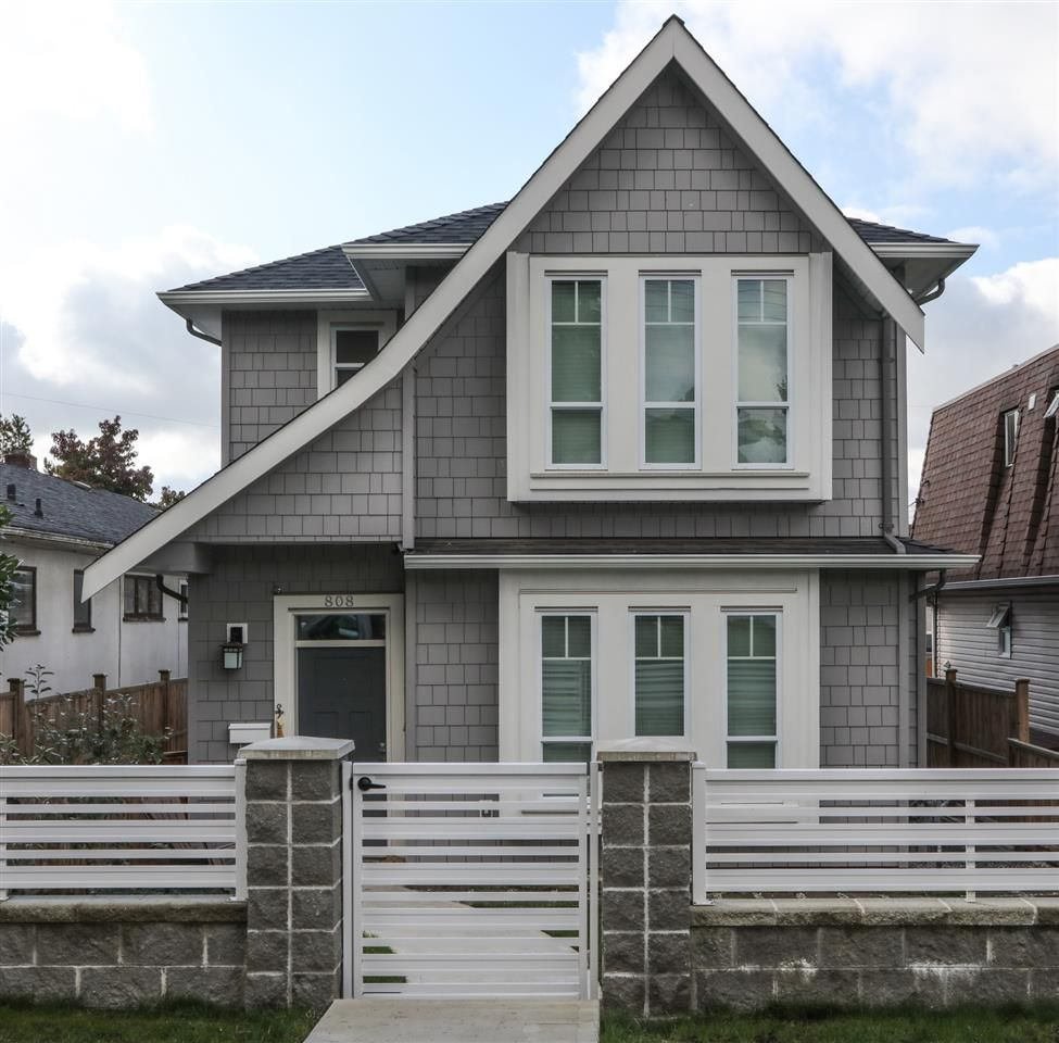 Main Photo: 808 W 69TH Avenue in Vancouver: Marpole 1/2 Duplex for sale (Vancouver West)  : MLS®# R2410906