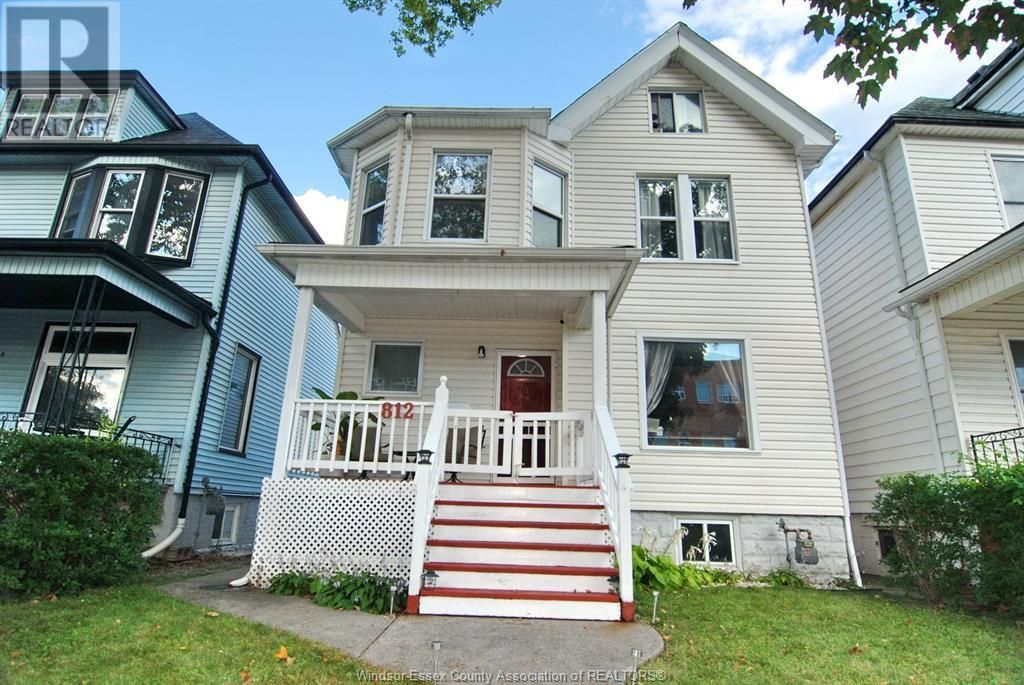 Main Photo: 812 DOUGALL in Windsor: House for sale : MLS®# 21017665