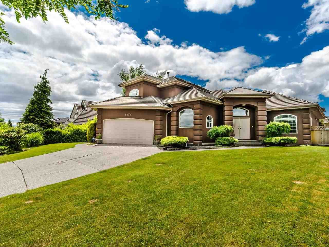 Main Photo: 5777 W KETTLE Crescent in Surrey: Sullivan Station House for sale : MLS®# R2591507
