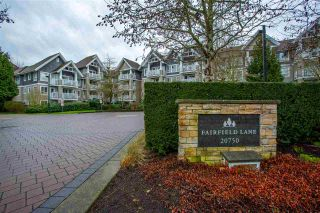 "Photo 1: 320 20750 DUNCAN Way in Langley: Langley City Condo for sale in ""FAIRFIELD LANE"" : MLS®# R2540966"