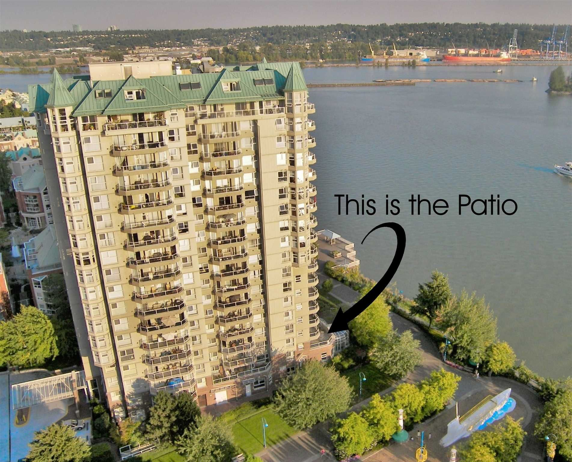 """Main Photo: 204 1250 QUAYSIDE Drive in New Westminster: Quay Condo for sale in """"THE PROMENADE"""" : MLS®# R2600263"""
