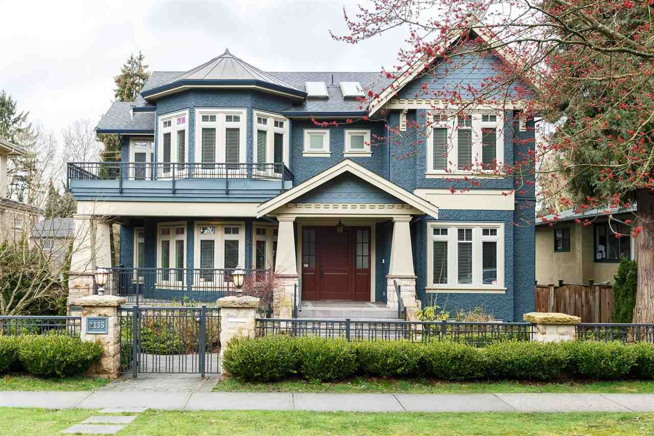 Main Photo: 2135 W 37TH Avenue in Vancouver: Quilchena House for sale (Vancouver West)  : MLS®# R2229085