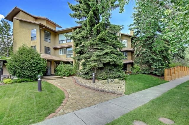Main Photo: 207 808 4 Avenue NW in Calgary: Sunnyside Apartment for sale : MLS®# A1072121