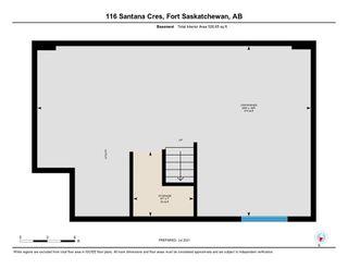 Photo 37: 116 Santana Crescent: Fort Saskatchewan House Half Duplex for sale : MLS®# E4252927