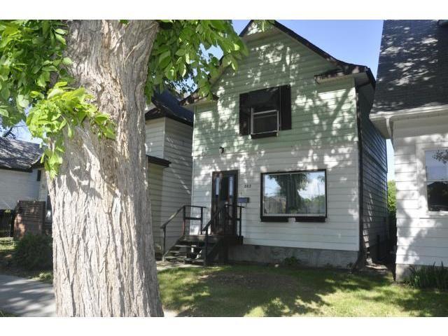 Main Photo: 263 Albany Street in WINNIPEG: St James Residential for sale (West Winnipeg)  : MLS®# 1312211