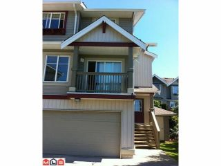 """Photo 1: 42 6651 203RD Street in Langley: Willoughby Heights Townhouse for sale in """"SUNSCAPE"""" : MLS®# F1201398"""