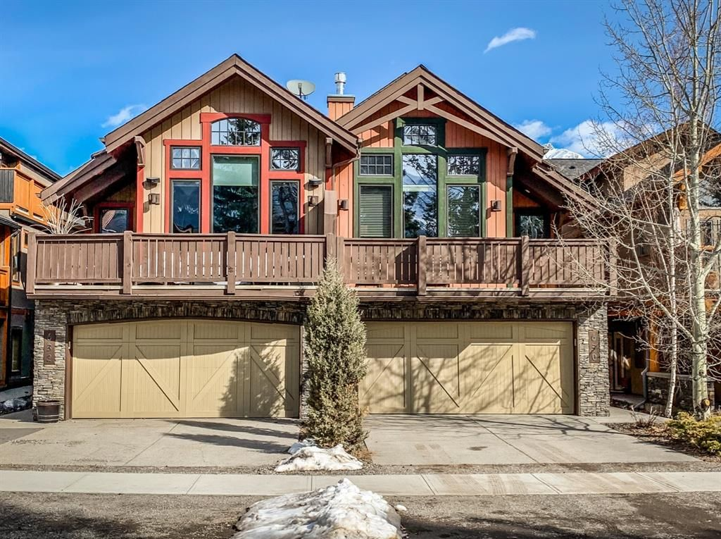 Main Photo: 630 4th Street: Canmore Semi Detached for sale : MLS®# A1089872