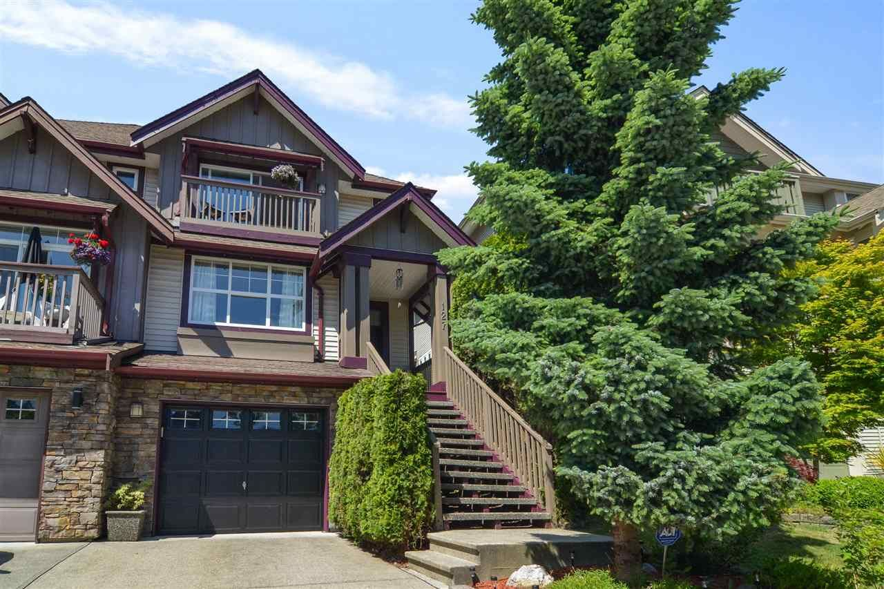 Main Photo: 127 FOREST PARK Way in Port Moody: Heritage Woods PM 1/2 Duplex for sale : MLS®# R2590882