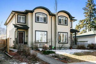 Photo 1: 9515 71 Avenue in Edmonton: Zone 17 House Half Duplex for sale : MLS®# E4234170