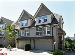 "Photo 1: 59 8089 209TH Street in Langley: Willoughby Heights Townhouse for sale in ""Arborel Park"" : MLS®# F1020362"
