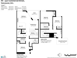 """Photo 25: 8 3477 COMMERCIAL Street in Vancouver: Victoria VE Townhouse for sale in """"La Villa"""" (Vancouver East)  : MLS®# R2552698"""