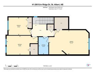 Photo 20: 41 200 ERIN RIDGE Drive: St. Albert House Half Duplex for sale : MLS®# E4257773