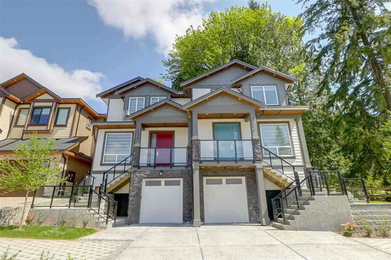 Main Photo: 1377 HAMES Crescent in Coquitlam: Burke Mountain 1/2 Duplex for sale : MLS®# R2506150
